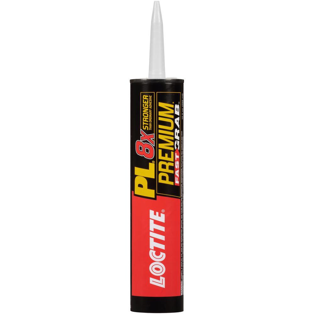 Loctite PL Premium Fast Grab 10 fl. oz. Polyurethane Construction Adhesive