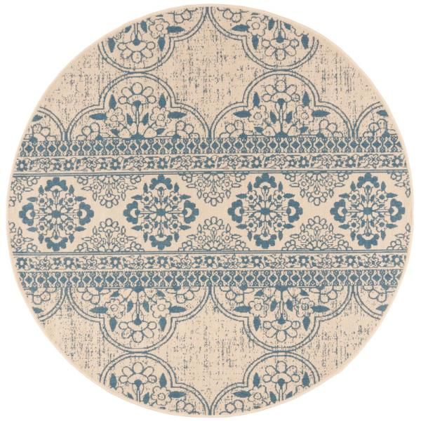 Indoor Outdoor Round Area Rug Bhs174m