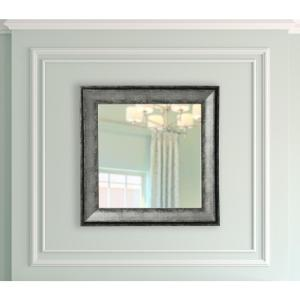 18 5 In X Sterling Charcoal Vanity Square Mirror