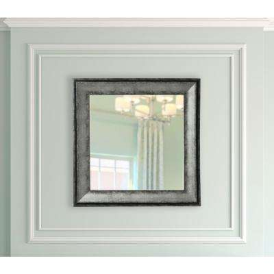 22.5 in. x 22.5 in. Sterling Charcoal Vanity Square Mirror