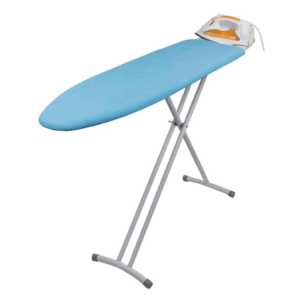 T-Leg Ironing Board with Iron Rest