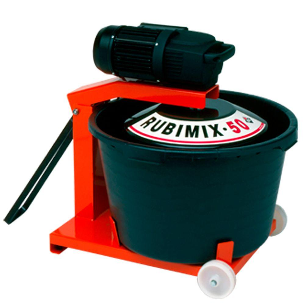 Rubi Grout and Thinset Mixer Rubimix 50-N with 14.3 Gal. Bucket