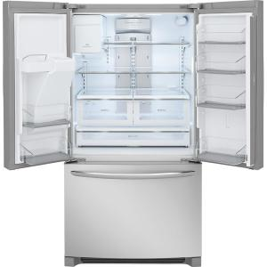 Store SO SKU #1002818634. +6. Frigidaire Gallery 27.2 Cu. Ft. French Door  Refrigerator In Smudge Proof Stainless Steel