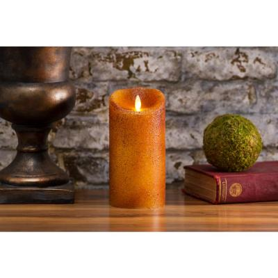 Pillar 3.5 in. w x 7 in. H Country Yam No Scent