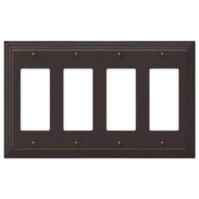 Steps 4 Decora Wall Plate - Aged Bronze