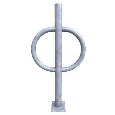 Action Ring and Post Rack Galvanized Surface Mounted 2-Bike Rack