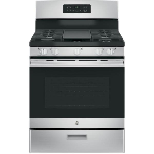 30 in. 5.0 cu. ft. Gas Range in Stainless Steel