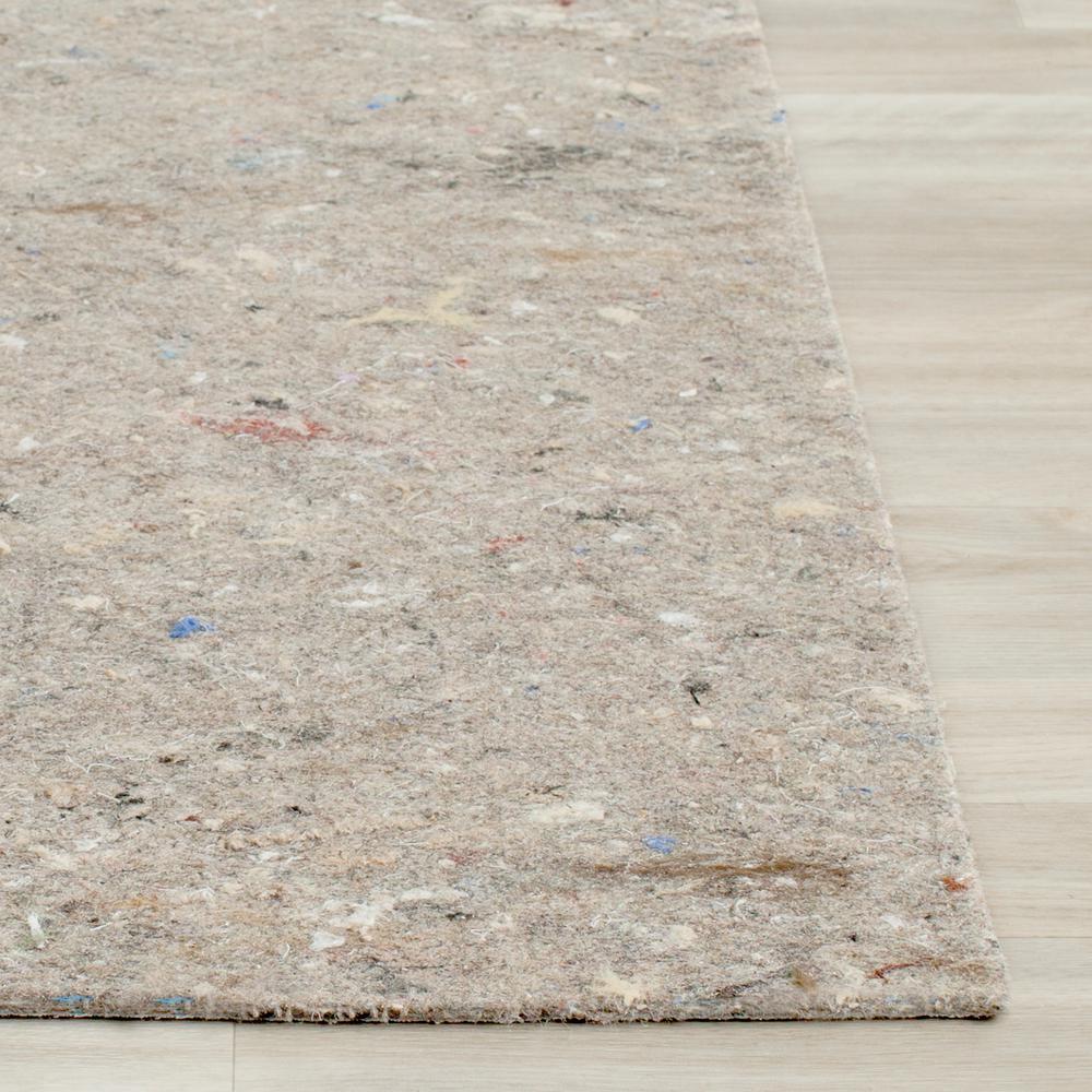 Safavieh Durapad Grey 5 ft. x 7 ft. Non-Slip Hard Surface Rug Pad