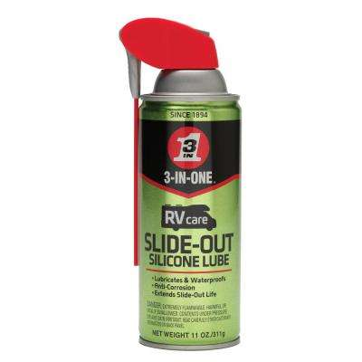 3 In 1 RV Silicone Slide Out Lube Spray 11 Oz