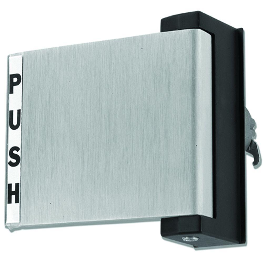 Global Door Controls Aluminum Store Front Push Paddle