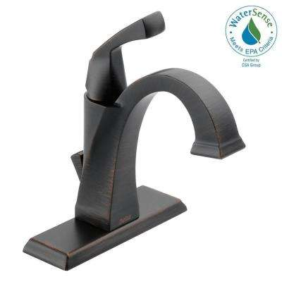 Dryden Single Hole Single-Handle Bathroom Faucet with Metal Drain Assembly in Venetian Bronze