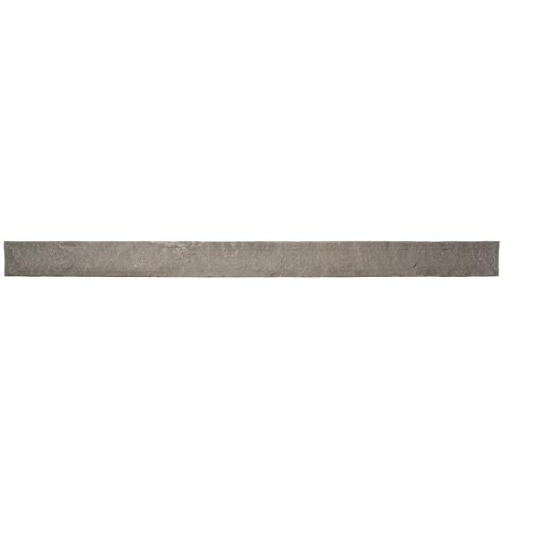 Stacked Stone Kenai 42 in. x 1.25 in. x 3.5 in. Faux Stone Siding Trim