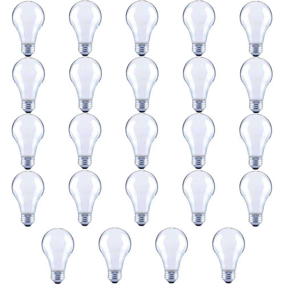60-Watt Equivalent A19 Frosted Glass Vintage Decorative Edison Filament Dimmable