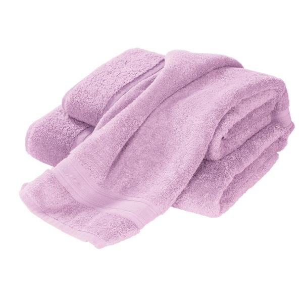 The Company Store Company Cotton Turkish Cotton Single Hand Towel in Orchid