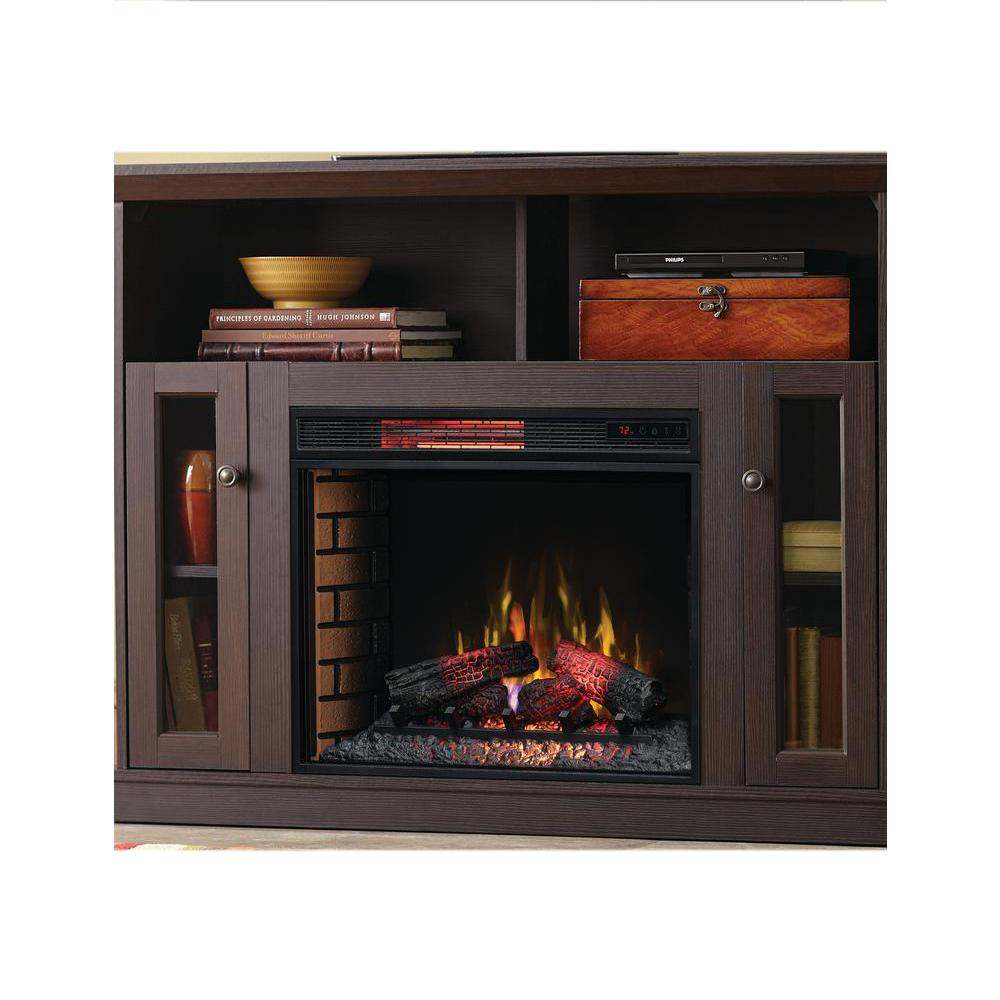 home decorators collection electric fireplace reviews home decorators collection charles mill 46 in convertible 13443