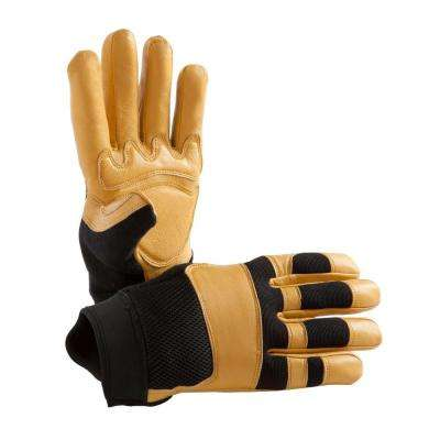 Hands on work gloves workwear apparel the home depot premium high dexterity goatskin utility glove freerunsca Choice Image