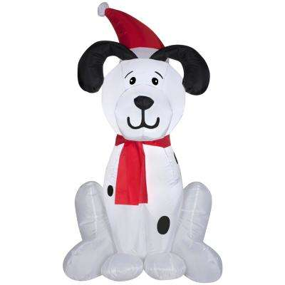 3.5 ft.  Inflatable Airblown Dalmation Puppy