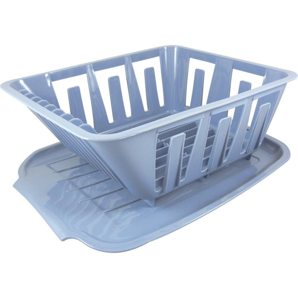 Valterra Mini Dish Drainer And Mat Blue A77002 The Home Depot
