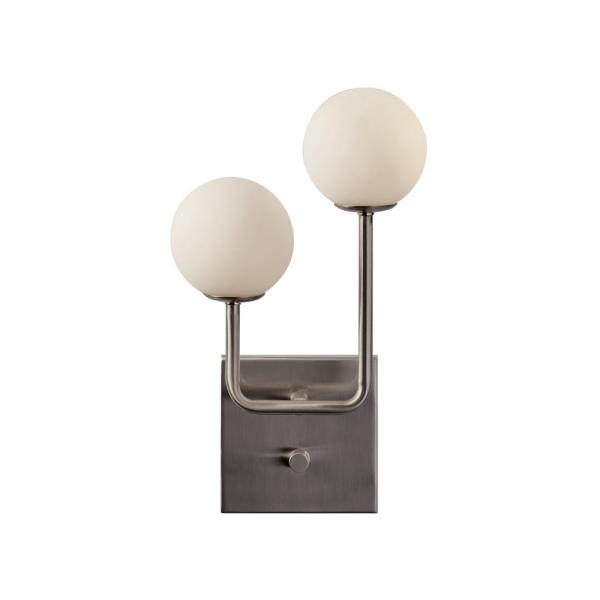 Asbury 13.5 in. Integrated LED Steel Wall Sconce