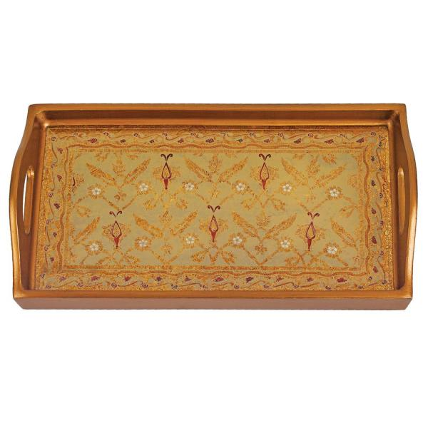 Badash Crystal 12.5 in. x 6.75 in. Antigua Sand Small Rectangle