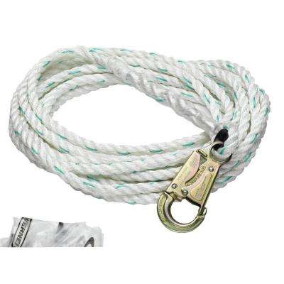 Upgear 100 ft. 5/8 in. Poly-Dac Vertical Lifeline