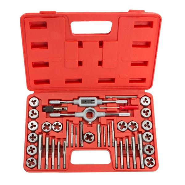26 Pieces MIBRO 301370BLUE Tap Die and Drill Metric Set