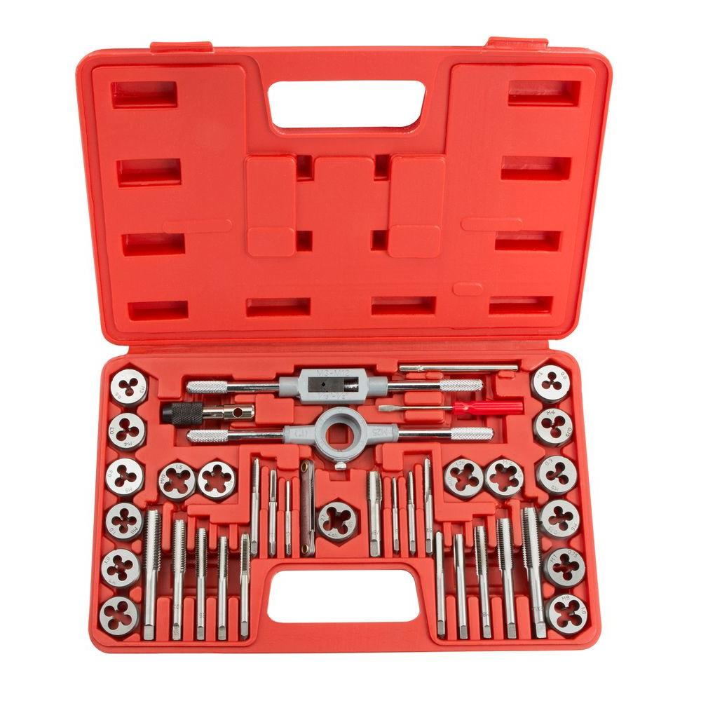 Tekton Metric Tap And Die Set 39 Piece 7559 The Home Depot
