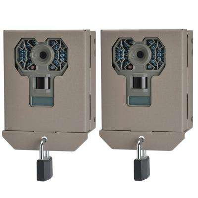 Steel Security Trail Game Camera Bear Box for G Series Cams (2-Pack)