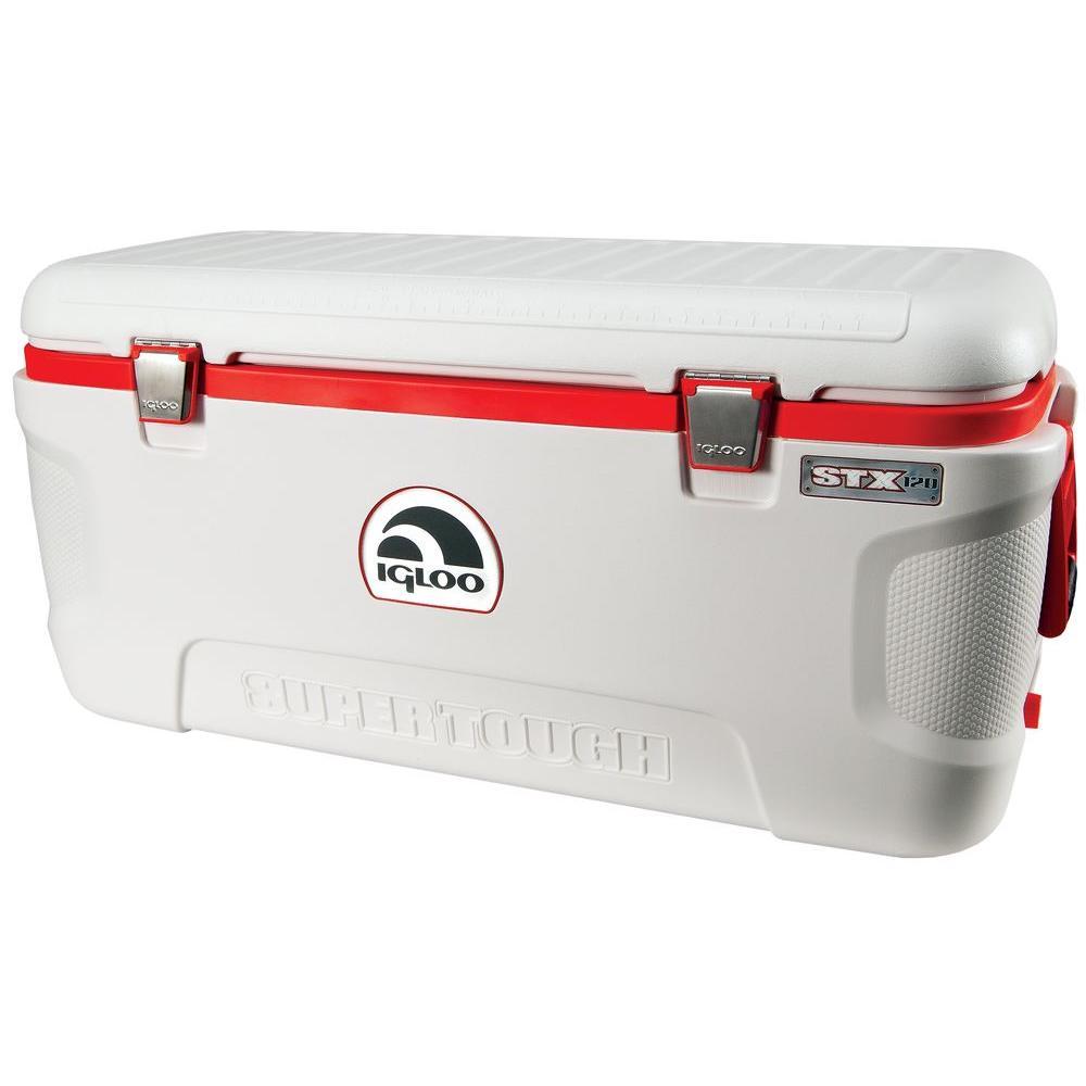 Super Tough STX 120 qt. Retractable Handles Cooler