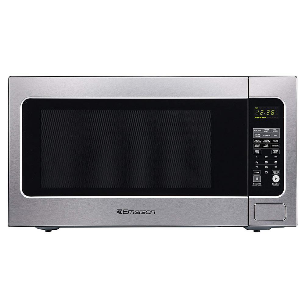 2 Cu Ft 1200 Watt Countertop Sensor Cooking Microwave Oven In Stainless Steel