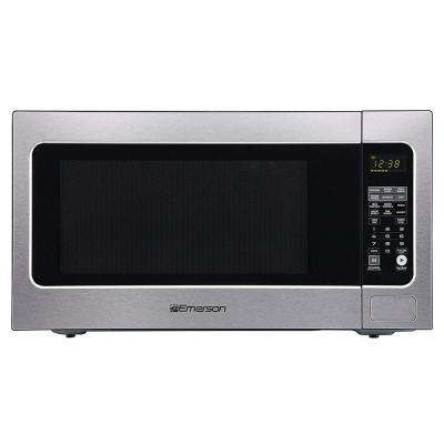 2.2 cu. ft., 1200-Watt Countertop, Sensor Cooking Microwave Oven in Stainless Steel