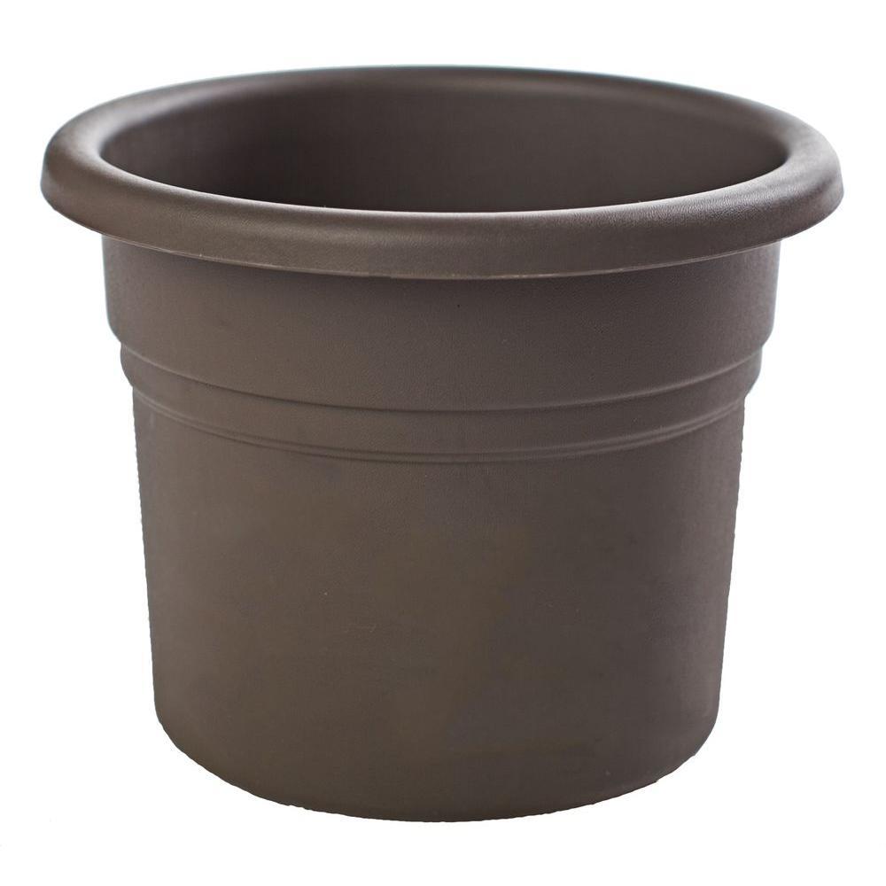 Bloem 10 in. Peppercorn Posy Plastic Planter (12-Pack)