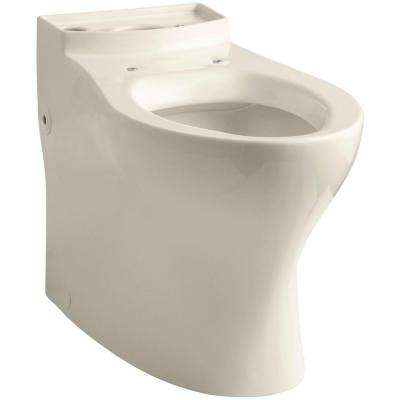 Persuade Comfort Height Elongated Toilet Bowl Only in Almond