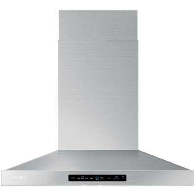 30 in. Wall Mount Range Hood Touch Controls, Bluetooth Connected, LED Lighting in Stainless Steel