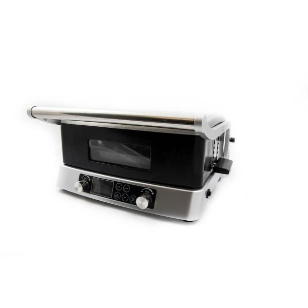 117 sq. in. Stainless Steel Smokeless Jubilee Double Grill with Drip Tray