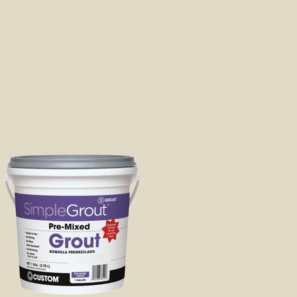 Custom Building Products SimpleGrout #333 Alabaster 1 Gal. Pre-Mixed Grout