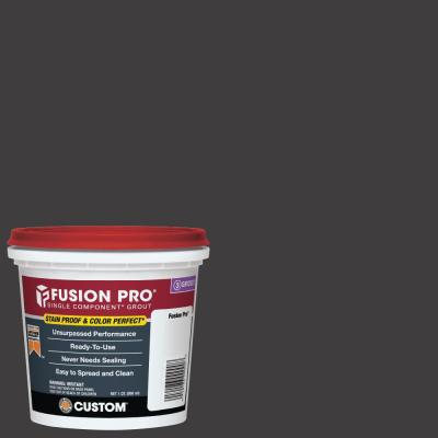 Fusion Pro #60 Charcoal 1 qt. Single Component Grout