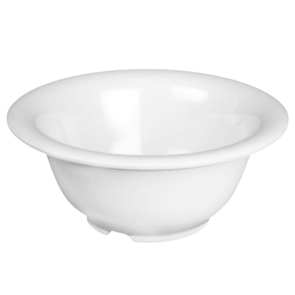 Restaurant Essentials Coleur 10 oz., 5-1/2 in. Soup Bowl in White (12-Piece)