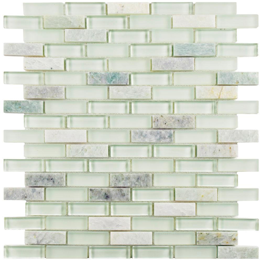 Merola tile tessera subway ming 11 34 in x 11 34 in x 8 mm glass merola tile tessera subway ming 11 34 in x 11 3 dailygadgetfo Images