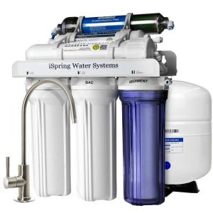 reverse osmosis kitchen sink ispring 6 stage 75gpd sink osmosis water 4839