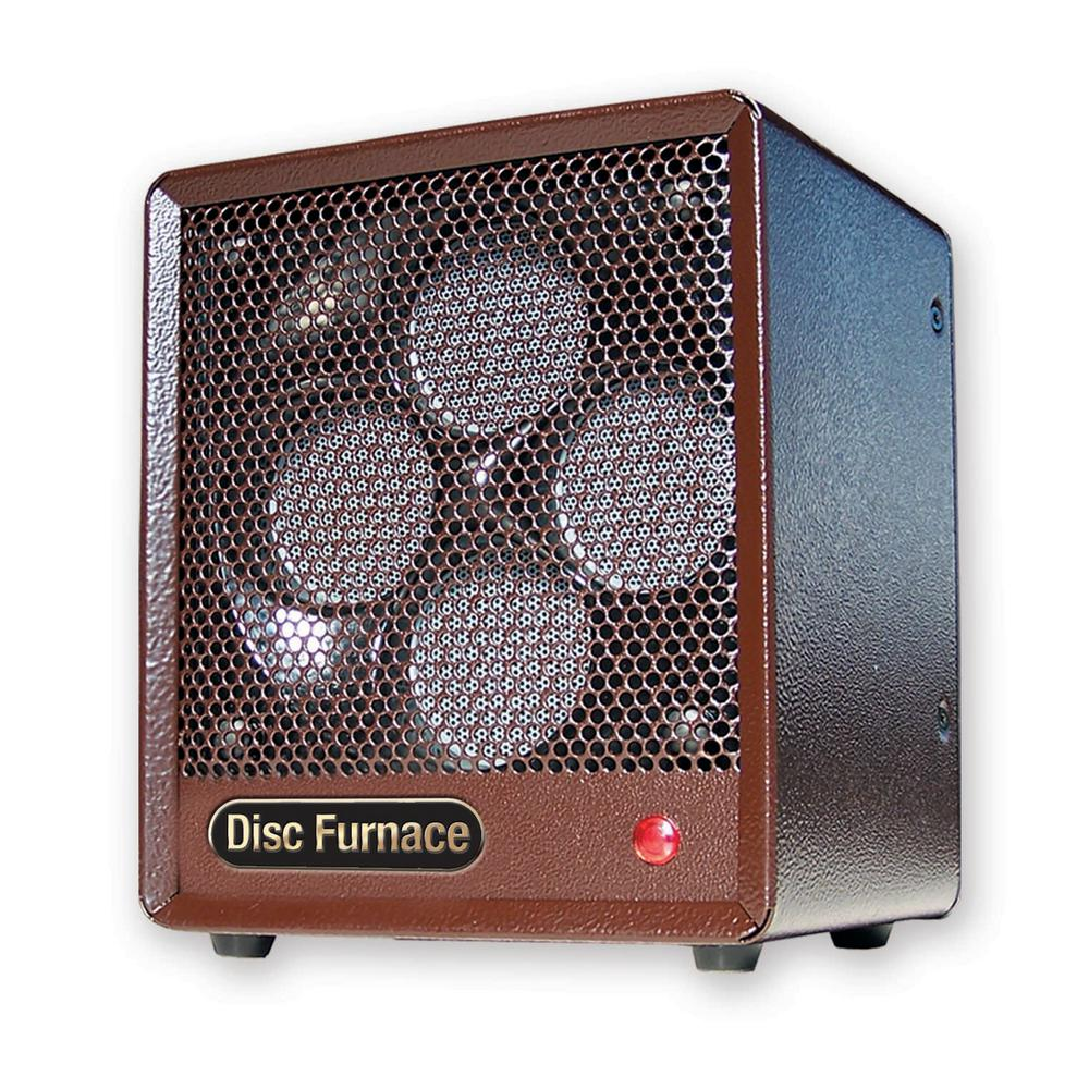 Pelonis 1,500-Watt Electric Portable Heater With Tip Over Protection, Brown -  Comfort Glow, BDISC6
