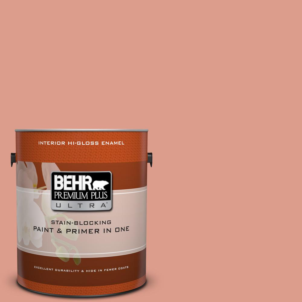 210d 4 Medium Terracotta Hi Gloss Enamel Interior Paint And