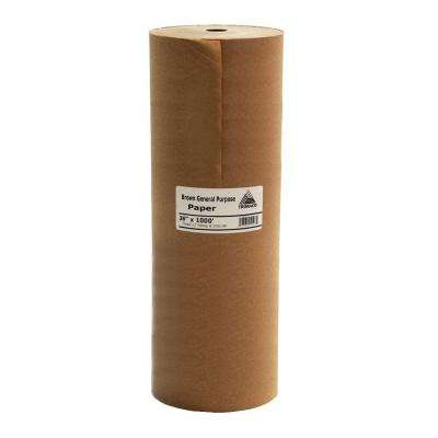 Easy Mask 36 in. x 1000 ft. Brown General Purpose Paper