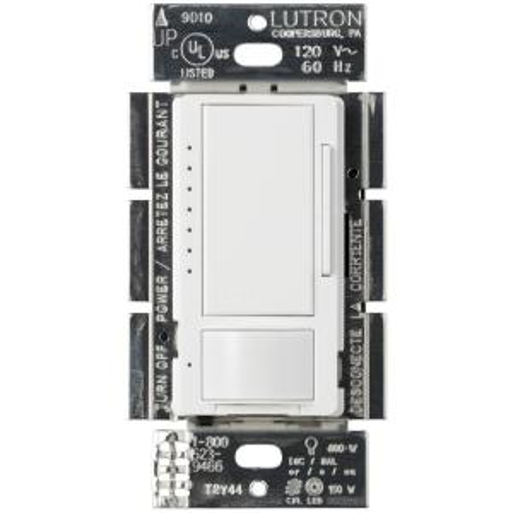 Lutron Maestro C L Dimmer 1 5 Amp Motion Sensor Single