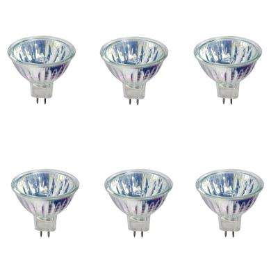 50-Watt MR16 Halogen Light Bulb (6-Pack)