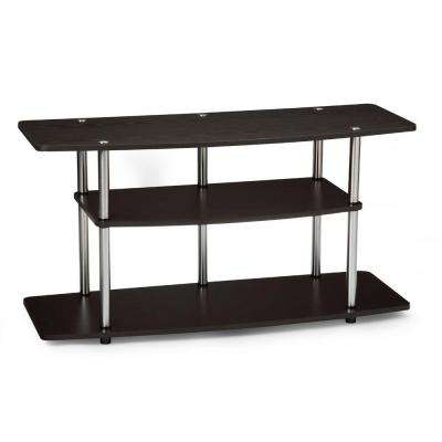 Designs2Go Espresso Entertainment Center