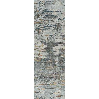 Venice Gray 2 ft. 6 in. x 8 ft. Runner Rug