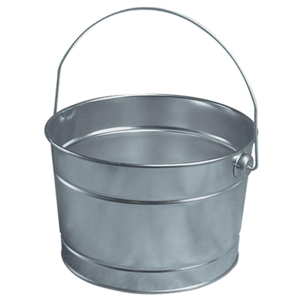 Leaktite 2 5 Qt Metal Pail 210650 The Home Depot