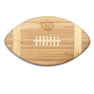 Wisconsin Badgers Touchdown Bamboo Cutting Board