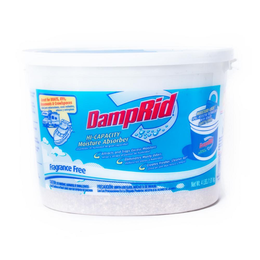 DampRid 4 Lb. Fragrance Free Hi-Capacity Moisture Absorber